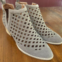 Jeffrey Campbell Tagard Laser Cut Split Side Womens Size 9 Booties Short Boots Photo