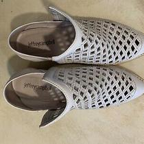Jeffrey Campbell Tagline White Booties Size 8 Photo