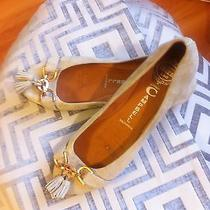 Jeffrey Campbell  Tan Suede Flats Size 8 Photo