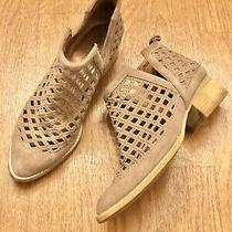 Jeffrey Campbell Tan Taggart Cutout Ankle Booties 7.5. Photo