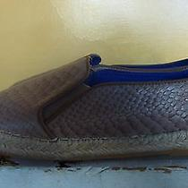 Jeffrey Campbell Taupe Leather Reptile Print Slip-on Flats  Sz. 9.5  Worn Once Photo