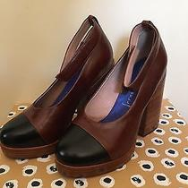 Jeffrey Campbell Two Toned Rockabilly Heels Size 8 Photo
