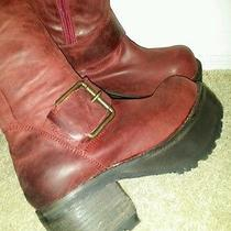Jeffrey Campbell-Ving Wine Boot 6 Photo