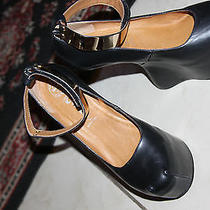 Jeffrey Campbell Watch-Cuff Pump Black Color Size 8m Photo