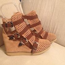 Jeffrey Campbell Wedge Sneaker Bootie - Size 9 Photo