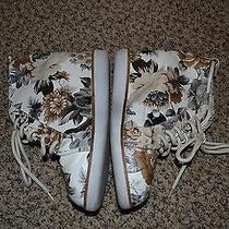 Jeffrey Campbell Wedge Tennis Shoe Size 7.5 Photo