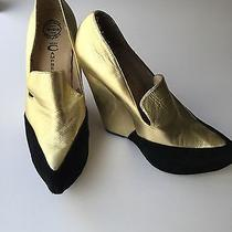 Jeffrey Campbell Wedges Gold - Size 10 Photo