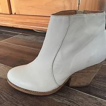 Jeffrey Campbell White Andrews Ankle Boot Bootie 9 Fits Like 8 Photo