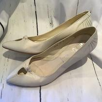Jeffrey Campbell White Kitten Heels Size 8 Shoes Pumps Photo