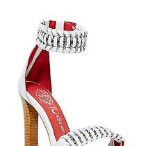 Jeffrey Campbell - White Malle Sandal - Brand New Photo