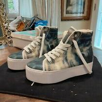 Jeffrey Campbell  Wolf Hightop Platform Sneakers Womens Size 10 New in Box Photo