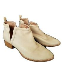 Jeffrey Campbell Woman Muskrat Booties Size  Notch Taupe Tan 245 Photo