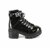 Jeffrey Campbell Women Black Ankle Boots Us 7.5 Photo