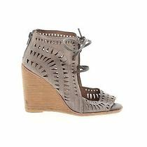 Jeffrey Campbell Women Brown Wedges Us 7 Photo