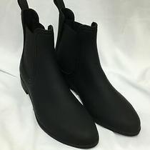 Jeffrey Campbell Women's Forecast Chelsea Waterproof Boot Black Matte Size 8 Photo