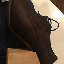 Jeffrey Campbell Women's Ladies Block Heel Brown Suede Shoes Booties 9m Photo