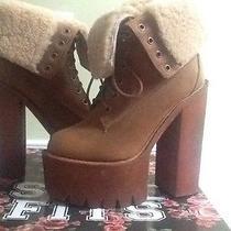 Jeffrey Campbell Women's Platform Boot Size 8 Photo