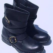 Jeffrey Campbell Women's Rouges Black Biker Ankle Boots Sz 6 (230 in Store) Photo