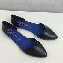 Jeffrey Campbell Women's Size 8 Pointy Toe Rubber Slip on Flats Great Condition Photo
