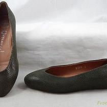 Jeffrey Campbell Womens Flats Loafers Shoes 6 M Green Leather Photo