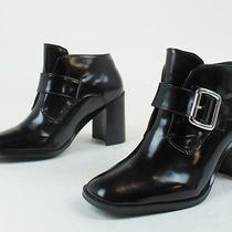 Jeffrey Campbell Womens Gent Short Ankle Boots Black 6 New in Box Photo