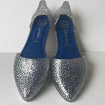 Jeffrey Campbell Womens Glitter Jelly Love Flats 9m  Photo