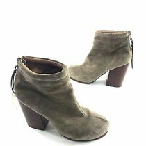 Jeffrey Campbell Womens Havana Rumble Leather Booties Ankle Boot Size 8.5 Brown Photo