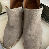Jeffrey Campbell Womens Rosalee Taupe Suede Pointed Booties Size 9 Photo