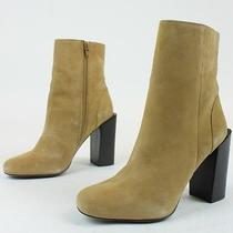 Jeffrey Campbell Womens Stratford Suede Boots Camel Tan 7 New in Box Photo