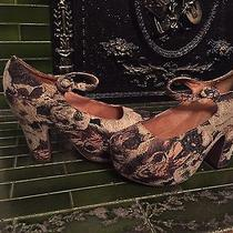 Jeffrey Campbell Woofing It Dog Heels 8 Rare Photo