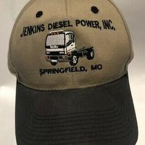 Jenkins Diesel Springfield Mo Hat Cap 100% Cotton Embroidered Isuzu Photo