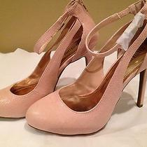 Jennifer Lopez New Solid Blush Pink  Heel 4.75