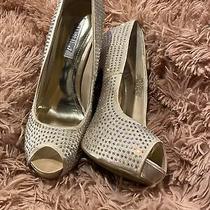 Jennifer Lopez Shoes Blingy Blush Women's Size 7.5 Peep Toe Platform Heels Pumps Photo