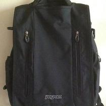 Jensport Interface - Black Laptop Backpack-Side Bag Photo