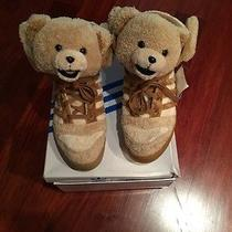 Jeremy Scott Adidas Original Teddy Bears Size 9.5 Photo