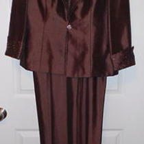 Jessica Howard Mother of the Bride Formal Evening Dress/jacket Sz 12 198.00 Photo
