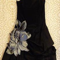 Jessica Mcclintock Black Cocktail Dress  Black Purse Photo