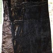 Jessica Mcclintock  Black Wrap Scarf 72 X 20 Euc Photo