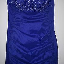 Jessica Mcclintock Blue Dress Photo