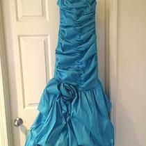 Jessica Mcclintock Blue Prom Dress  Photo