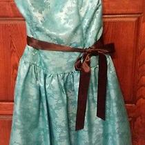 Jessica Mcclintock Blue Prom Dress Size 9 Photo
