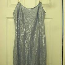 Jessica Mcclintock Blue Shimmer Prom Dress Wedding Dress Photo