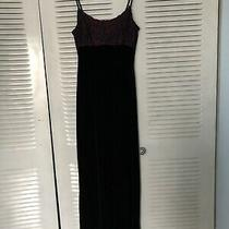 Jessica Mcclintock Bridesmaid Homecoming Prom Dress Gown Velvet Dress 9/10 M Photo