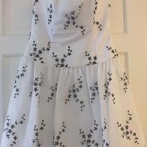 Jessica Mcclintock for Gunne Sax Above Knee Corset Formal Sleeveless Dress S 7/8 Photo
