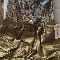 Jessica Mcclintock Green Size 7 Prom Formal Short Dress Photo