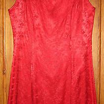 Jessica Mcclintock Gunne Sax Red Dress Size 9/10 Photo