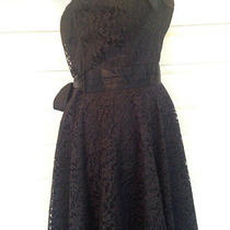 Jessica Mcclintock Gunne Sax Vintage 70s 80s Black Lace Prom Dress Punk Grunge Photo