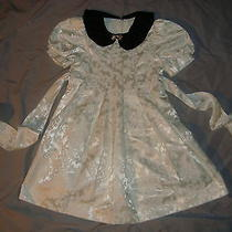 Jessica Mcclintock  Holiday /christmas Dress Girls Sz 5 Photo
