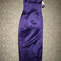 Jessica Mcclintock Prom Party Cocktail Purple Size 10 Nwt Photo