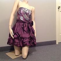 Jessica Mcclintock Purple Dress Photo